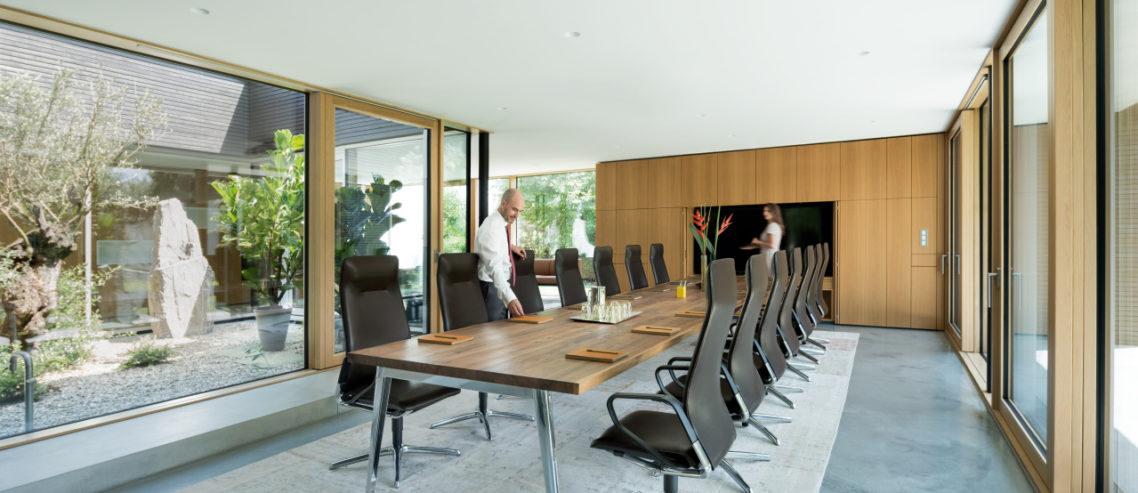 comfortabele boardroom stoel sedus