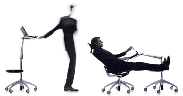 Der open up Drehstuhl prägt Ergonomie und Wohlbefinden am Arbeitsplatz