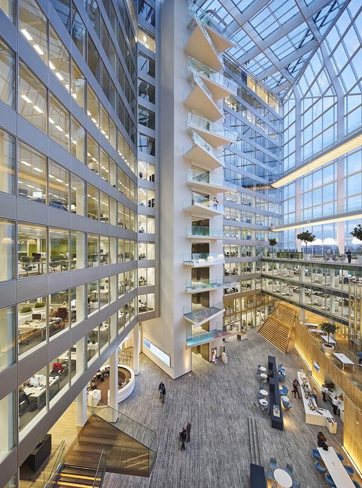 Agiles Arbeiten im intelligentesten Gebäude der Welt: The Edge
