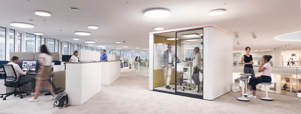 Konzentration im Sedus Smart Office