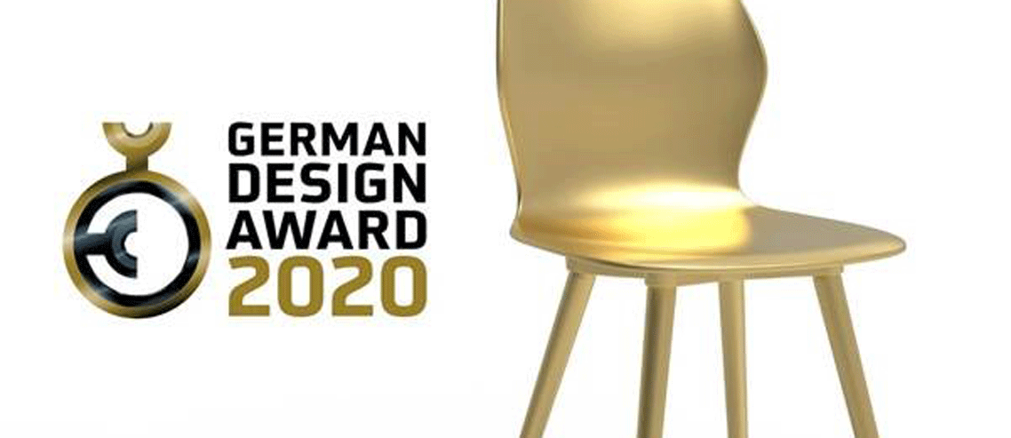German Design Award 2020 Gold prämierter se:spot