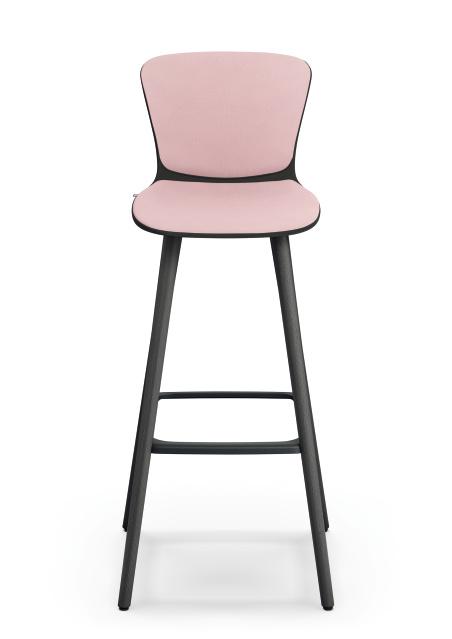 se spot stool_pink_Barstuhl to work