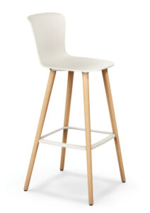 se spot stool_Bar chair for working in white