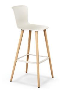 se spot stool_Barstuhl zum Arbeiten in weiß
