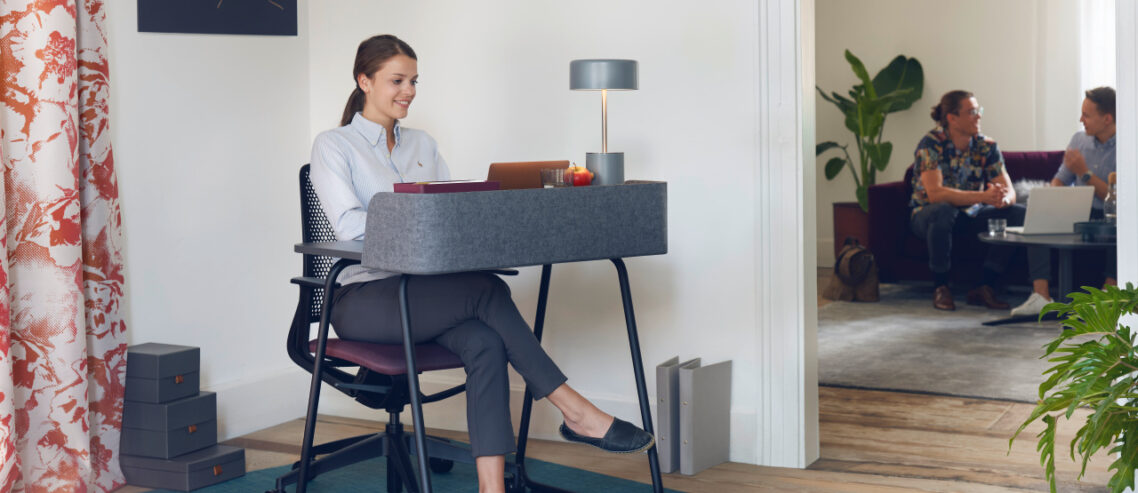 Arbeitstisch fürs Home-Office von Sedus