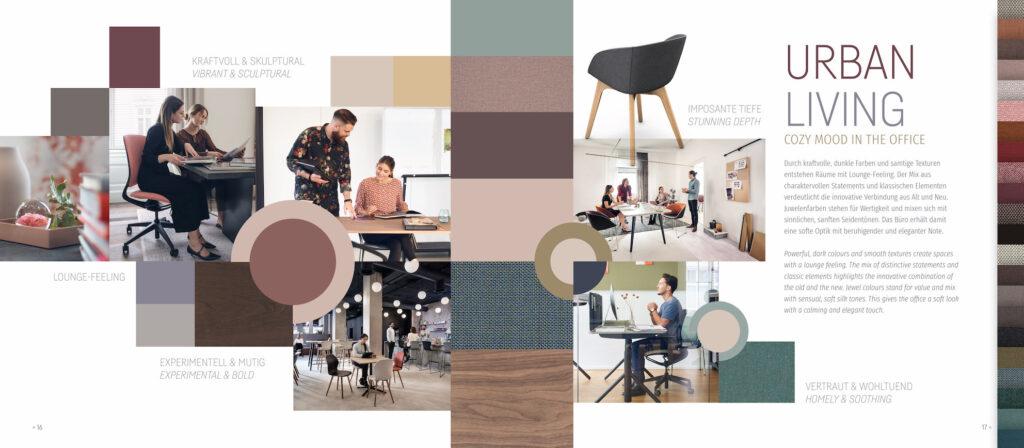 Sedus office design color cookbook