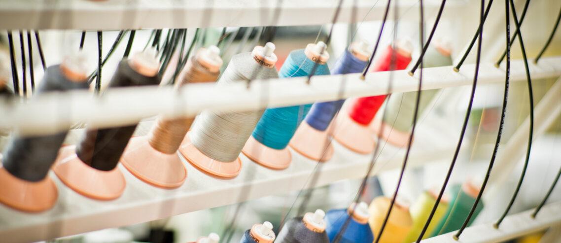 Näherei bei Sedus Made in Germany Nadel
