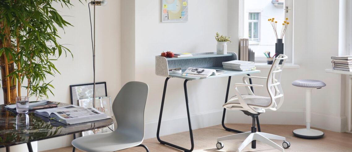 den passenden Schreibtisch fürs Home-Office Sedus
