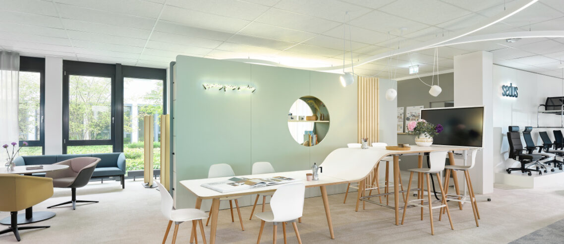 Sedus Showroom Büromöbel Vorstand Marketing
